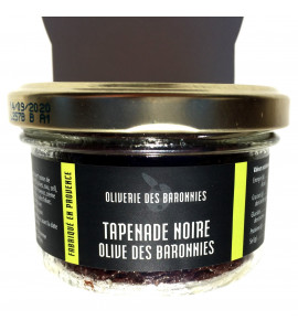 """Black olives Tapenade from """"Baronnies"""" country"""
