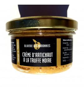 Cream of artichoke with black truffle