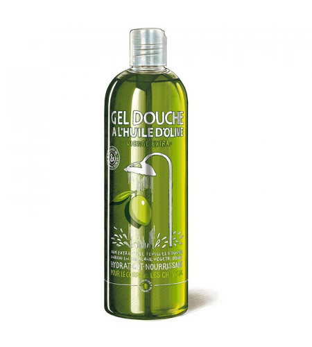 Gel douche huile d'olive