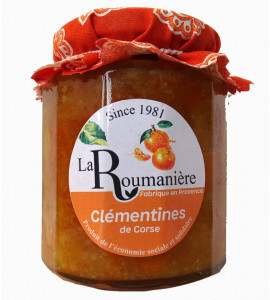 Jam Clementines from Corsica 335gr