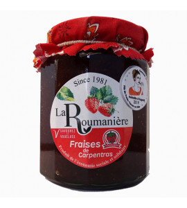 Strawberries jam 335gr