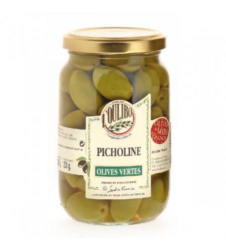 Green olives Picholine 200gr