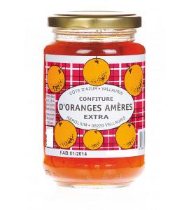 Confiture d'oranges amères 375gr