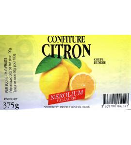 Confiture de citron 375gr
