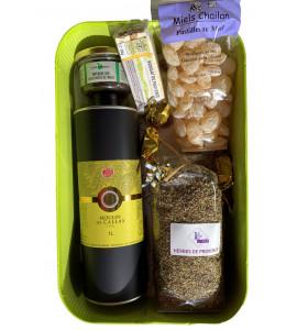 "Green Festive ""Moulinier"" Box"