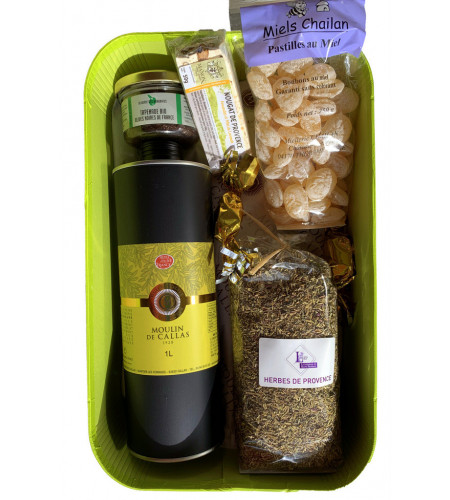 """Moulinier"" festive box"