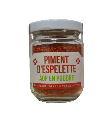 Espelette pepper powder AOP 40gr